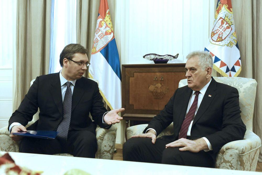 ISPSOS O IZBORIMA ZA PREDSEDNIKA: Za Vučića 30 odsto, a za Nikolića 6