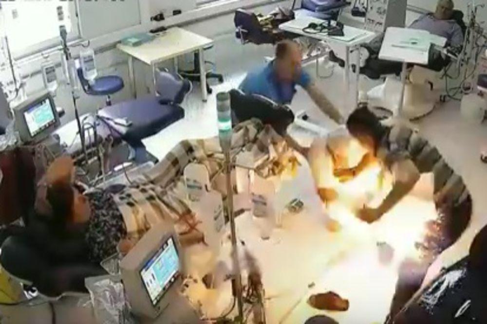(UZNEMIRUJUĆI VIDEO) HOROR U TIRANI: Albanac zapalio pacijente, izgorelo troje ljudi!