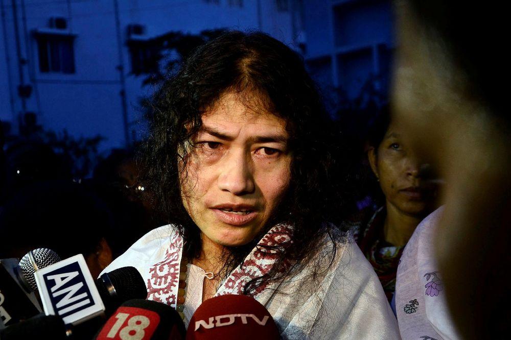 (VIDEO) 16 GODINA NIJE NIŠTA JELA: Indijka prekinula štrajk glađu da bi učestvovala na izborima