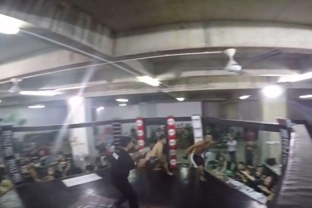 (VIDEO) MMA SVET OVO NIJE VIDEO: Pogledajte kukavicu koja beži po kavezu