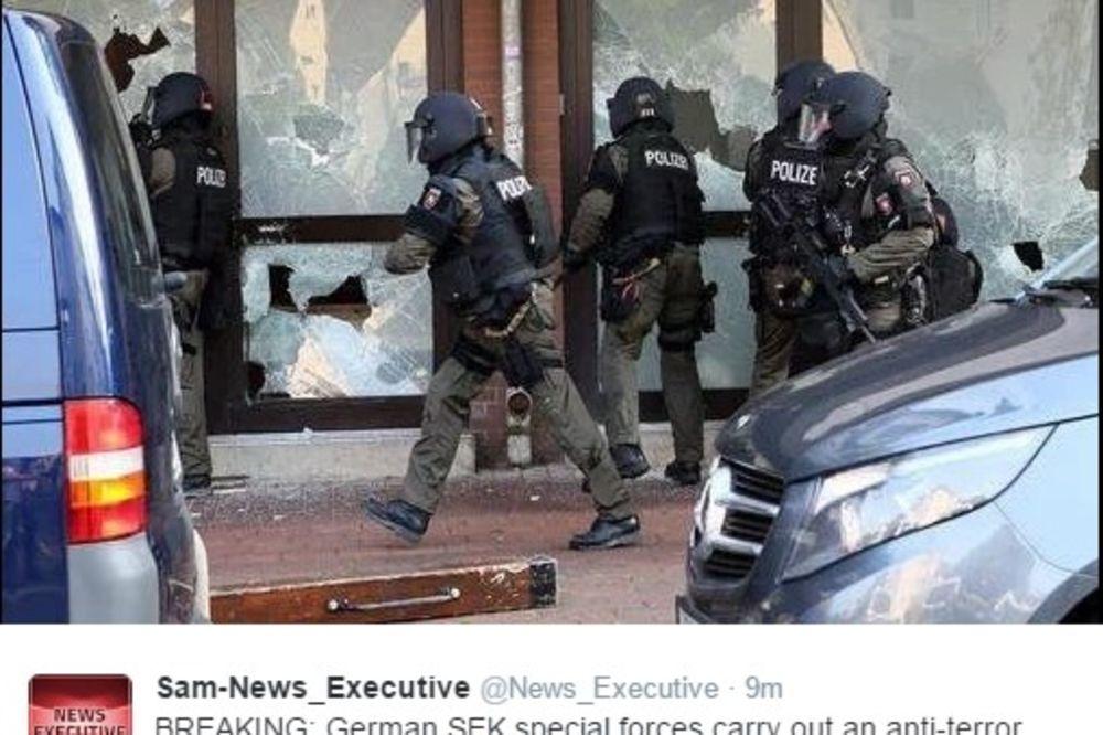 RACIJA U NEMAČKOJ: Specijalci upali u džamiju zbog sumnje da se tamo regrutuju borci Islamske države