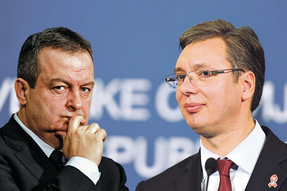 ČITAJTE U KURIRU DAČIĆ NAREDIO SVOJIMA: Jezik za zube i ne dirajte Vučića!