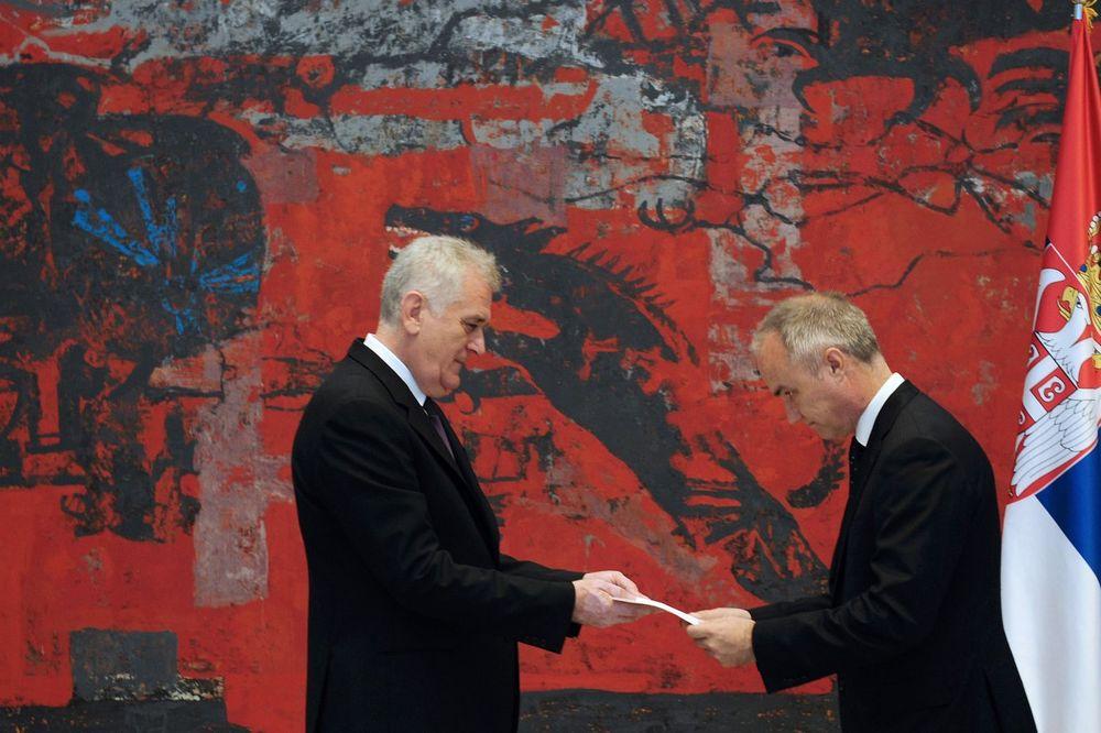 DOBRODOŠLICA U SRBIJU: Nikolić primio akreditive ambasadora Švedske, Meksika i Švajcarske