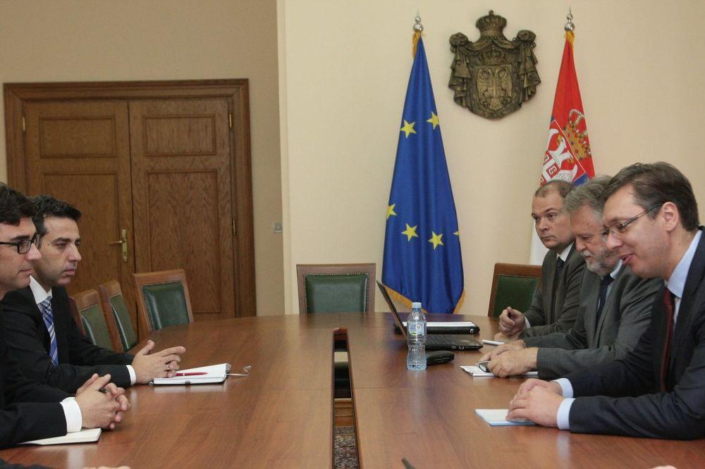 VUČIĆ SA NOVIM ŠEFOM MMF U SRBIJI: Nikada više nećemo biti na ivici bankrotstva!