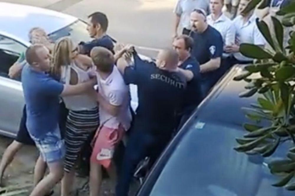 (VIDEO) OVAKO MLATE KOMUNALCE U HRVATSKOJ: Gosti kafića pesnicama sprečili uklanjanje terase!