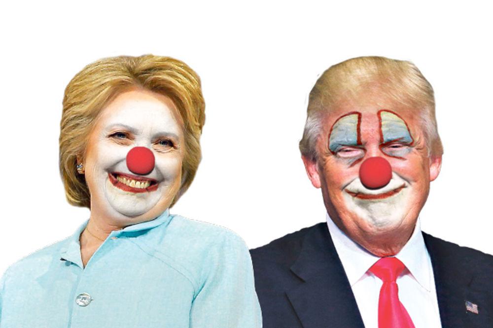 CIRKUSANTI: Amerikanci besni na predsedničke kandidate