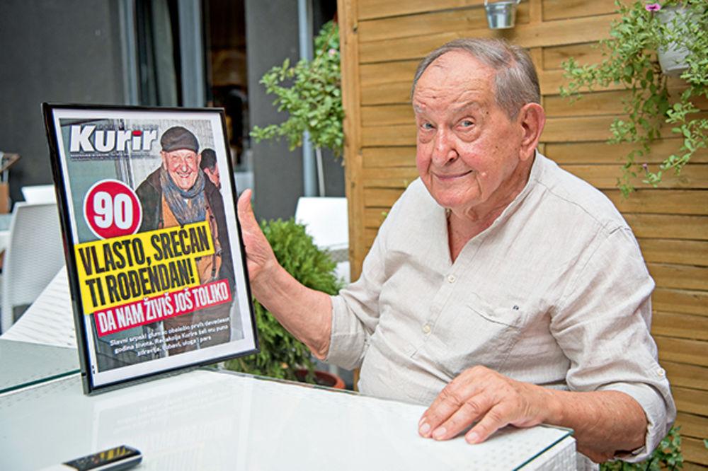 Legenda VLASTA VELISAVLJEVIĆ proslavio 90. rođendan: Majstore, da nam živiš još toliko!