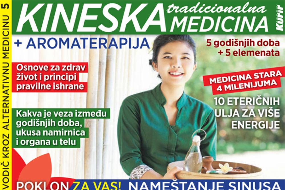DANAS UZ KURIR POKLON SPECIJAL: Kineska tradicionalna medicina
