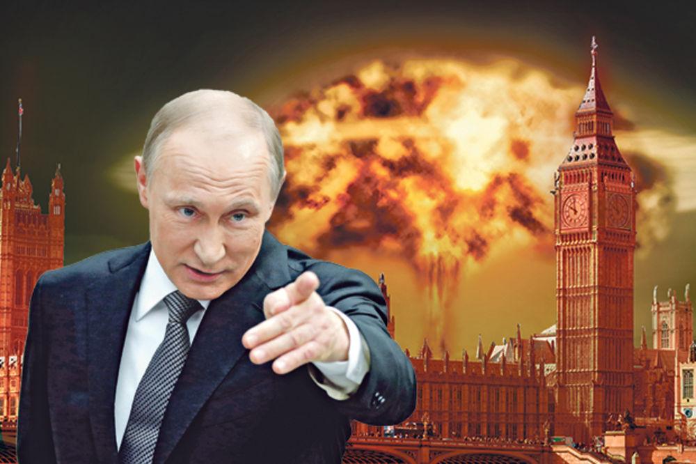 PANIKA U BRITANIJI: Putin će nas razoriti atomkama