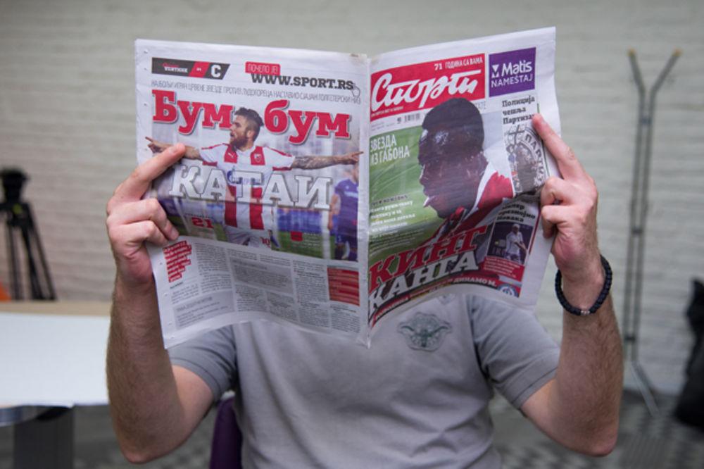 Novinari Sporta započeli štrajk, zatvorili se u redakciju