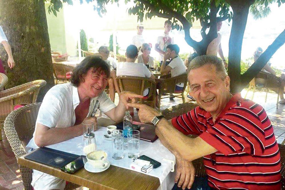 UŽIVA: Miroslav Ilić glavni šanker u Herceg Novom!