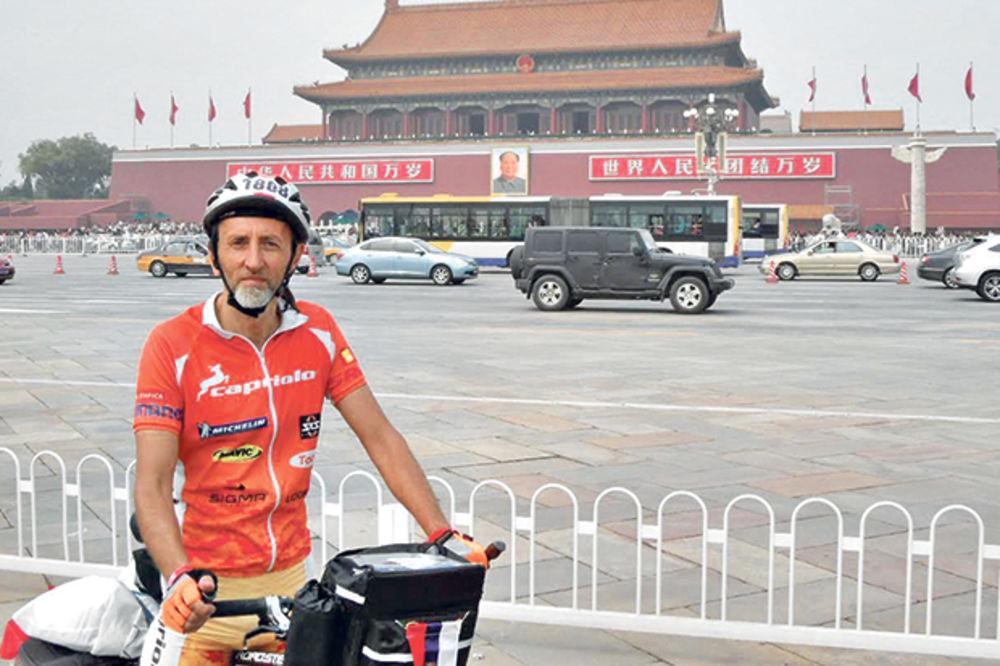 PODVIG: Profesor iz Novog Sada biciklom stiže u Rio da bodri olimpijce