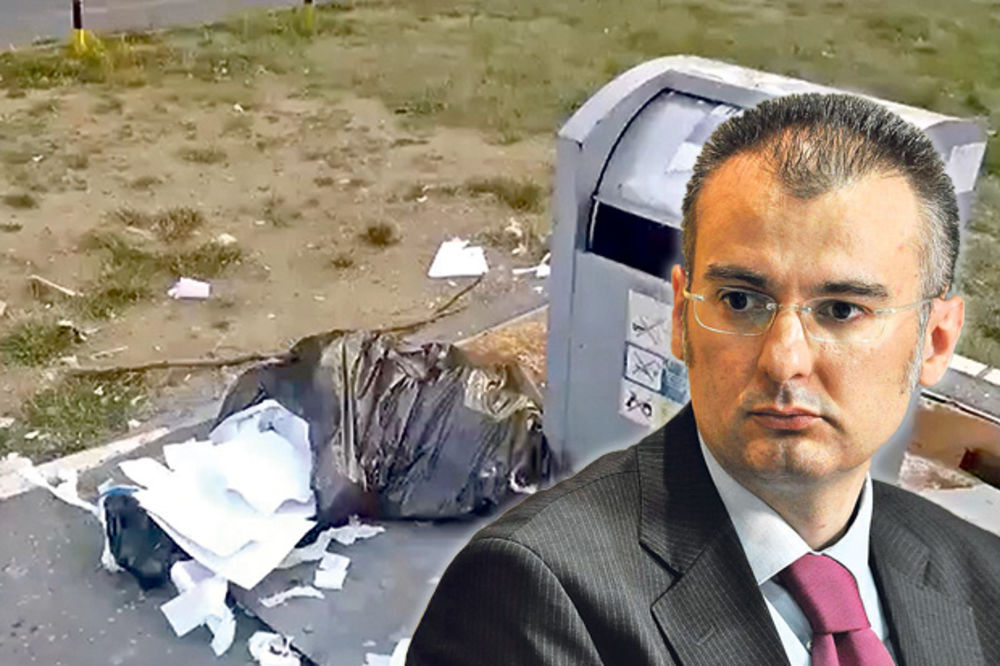 SRAMOTA: Banka podatke građana bacila na đubrište!