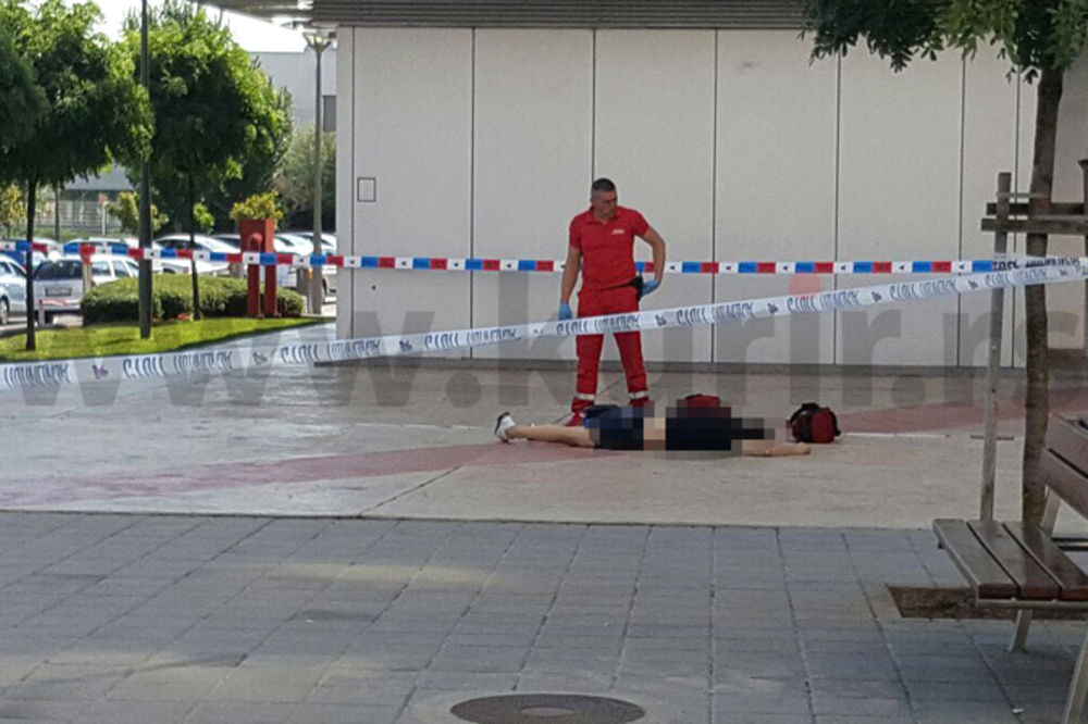 KURIR NA MESTU PUCNJAVE U BELVILU: Uznemirujući video! Ubijen vlasnik kafića pred ženom i decom!