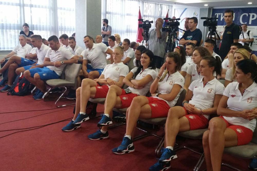 PREKO DUBAIJA NA IGRE: Košarkašice i vaterpolisti Srbije otputovali u Rio