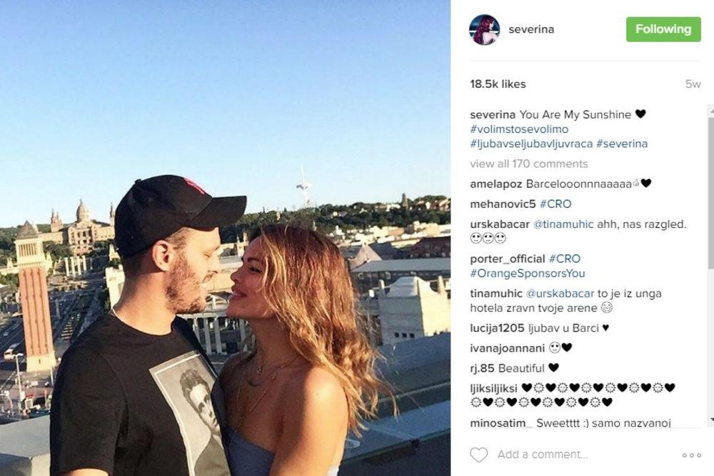 NJEN ČOVEK DANAS SLAVI: Pogledajte kakvom romantičnom porukom je Severina čestitala Igoru rođendan