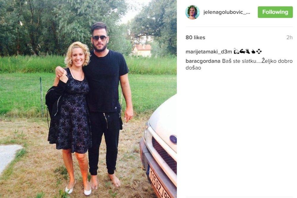 SUSRET BIVŠIH LJUBAVNIKA: Jelena uživala u Željkovom društvu. Šta li će joj verenik reći na to?