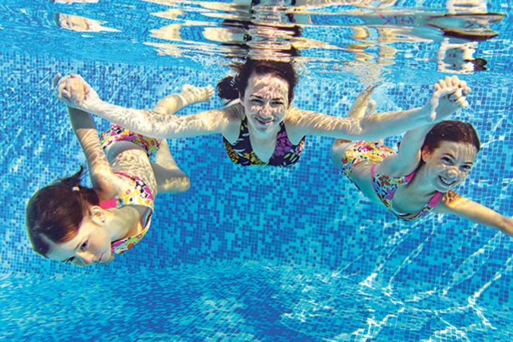 DA VAM ZARAZA NE POKVARI LETO  Ne vršite nuždu u bazenu!