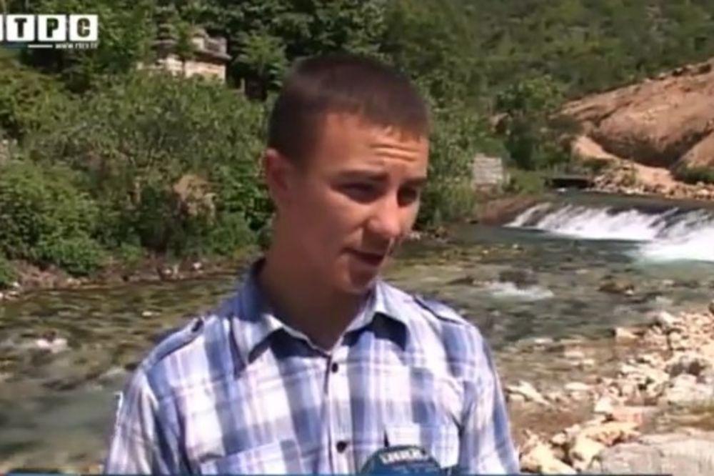 (VIDEO) A SVI SU MU SE SMEJALI: Zoran (19) napravio hidrocentralu kako bi njegova baka imala struju!