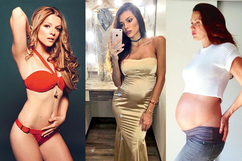 BEBI-BUM NA SRPSKOJ ESTRADI: Ove dame će postati mame