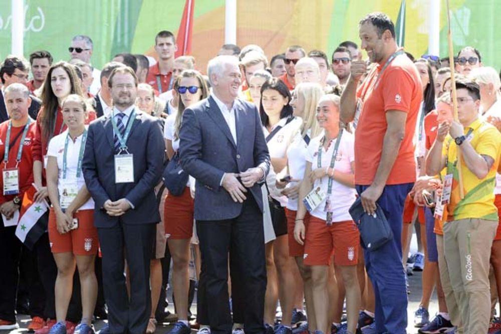 PREDSEDNIK NIKOLIĆ: U Riju očekujemo više medalja nego u Londonu