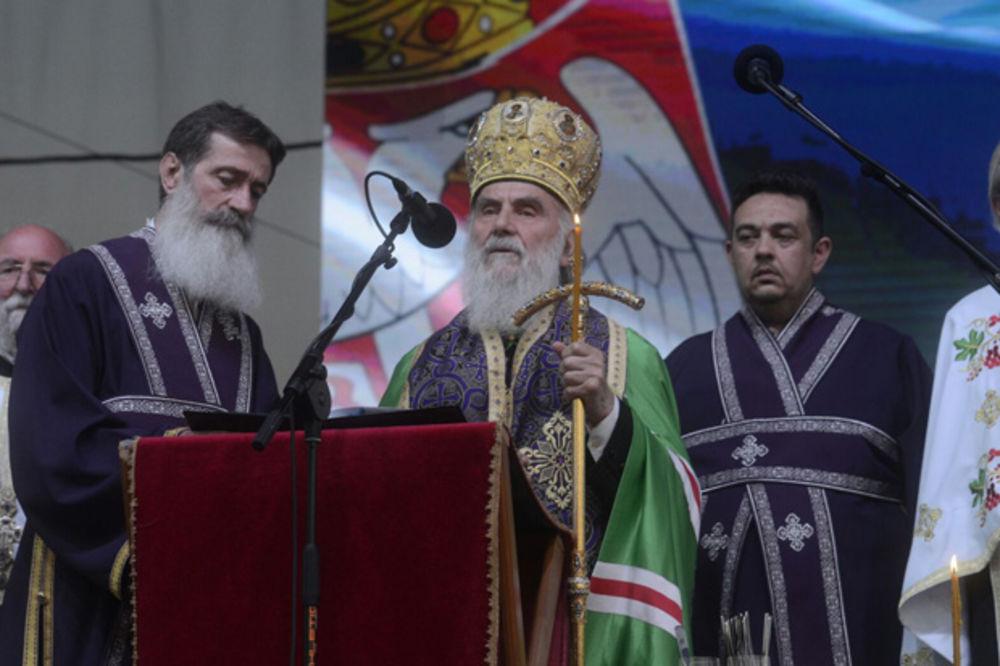 PARTIJARH IRINEJ: Srbi i Hrvati umesto mržnje treba da grade mir, ljubav i toleranciju