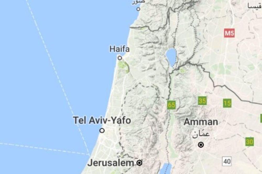 PALESTINCI BESNI: Gugl uklonio Palestinu sa svojih mapa