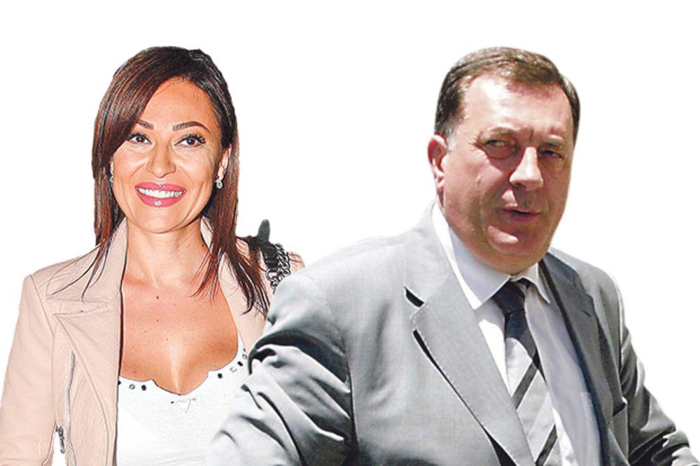 Prijatelji... Ceca i Milorad Dodik