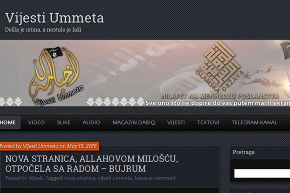 PONOVO ŠIRE MRŽNJU: Džihadisti iz BiH ponovo pokrenuli blog i veličaju masakre Islamske države!
