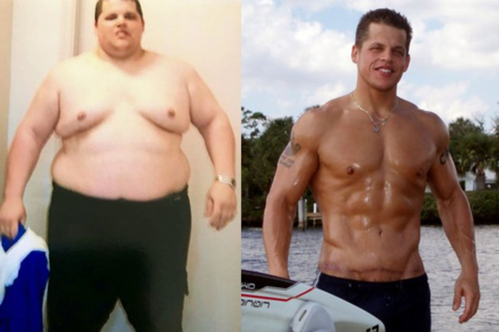 EKSTREMNI PREOBRAŽAJ: Uvek je tražio 2 mesta u avionu zbog gojaznosti, a sada izgleda BRUTALNO!