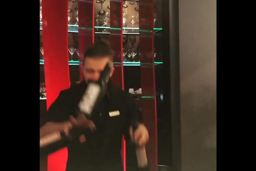 (VIDEO) GLUMAC U NEVERICI: Pogledajte šta je Miloša ostavilo bez teksta!