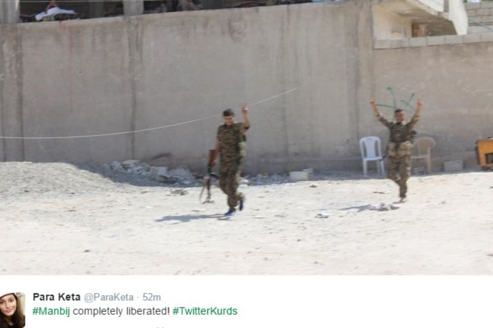 (VIDEO) VELIKE BORBE U SIRIJI: Oslobođen grad Manbidž, džihadisti oteli 2.000 civila