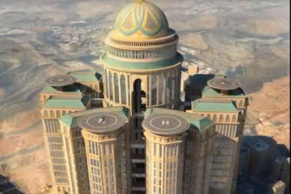 (VIDEO) PUSTINJSKO ČUDOVIŠTE: Ovo će biti najveći hotel na svetu od 1,4 miliona kvadrata