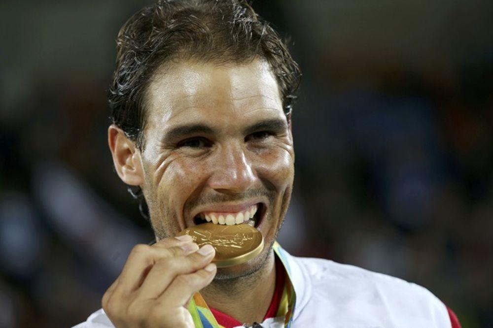 RAFA JE NEUNIŠTIV: Nadal sa Lopezom osvojio zlatnu olimpijsku medalju u dublu