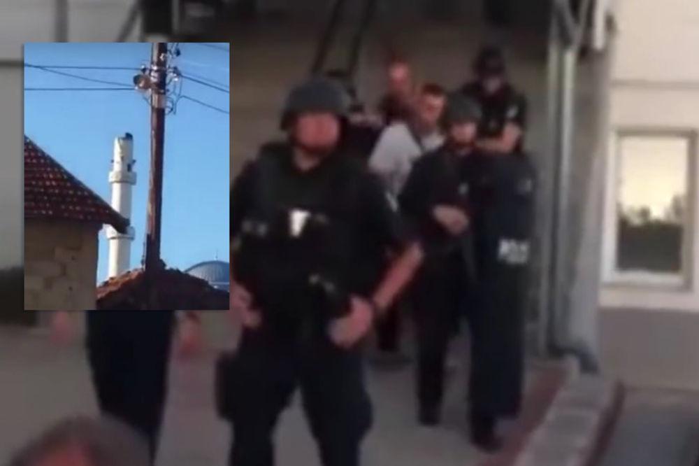 (VIDEO) UHAPŠEN SRBIN KOD GNJILANA: Popeo se na džamiju i pokušao da sruši simbol orla