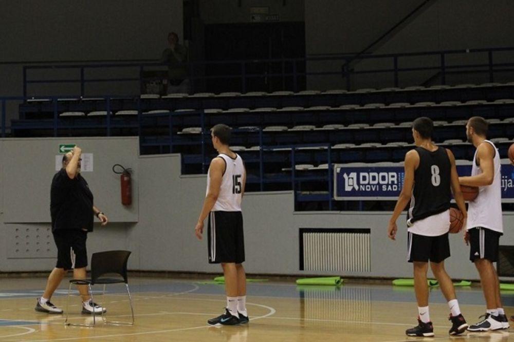 DŽIKIĆ BROJAO DO 11: Počele pripreme košarkaša Partizana