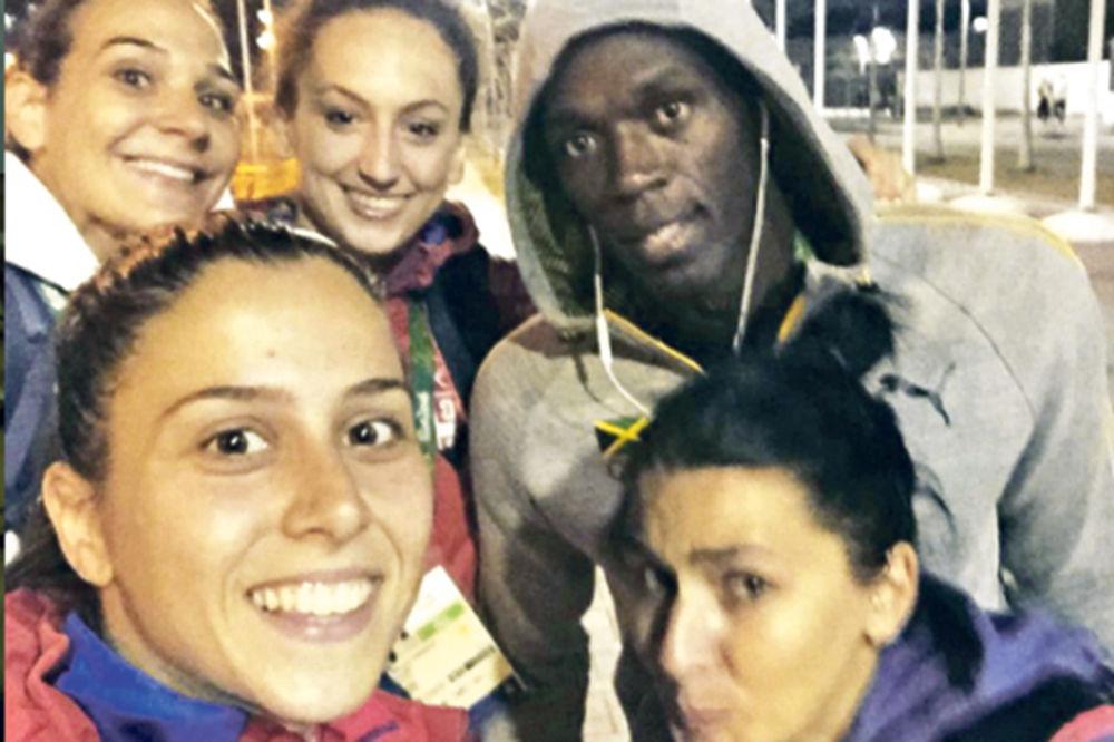 UHVAĆEN NEUHVATLJIVI BOLT: Srpkinje selfijem stigle Jamajkanca
