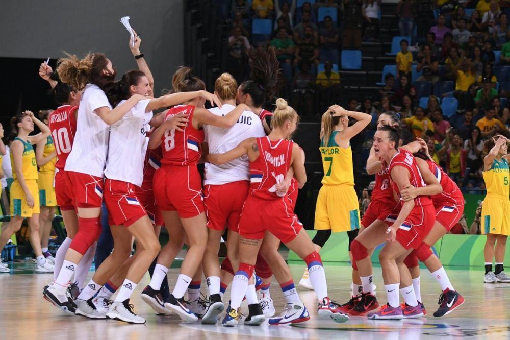 SRPKINJE NAPRAVILE SVETSKO ČUDO: Košarkašice savladale Australiju i plasirale se u polufinale OI