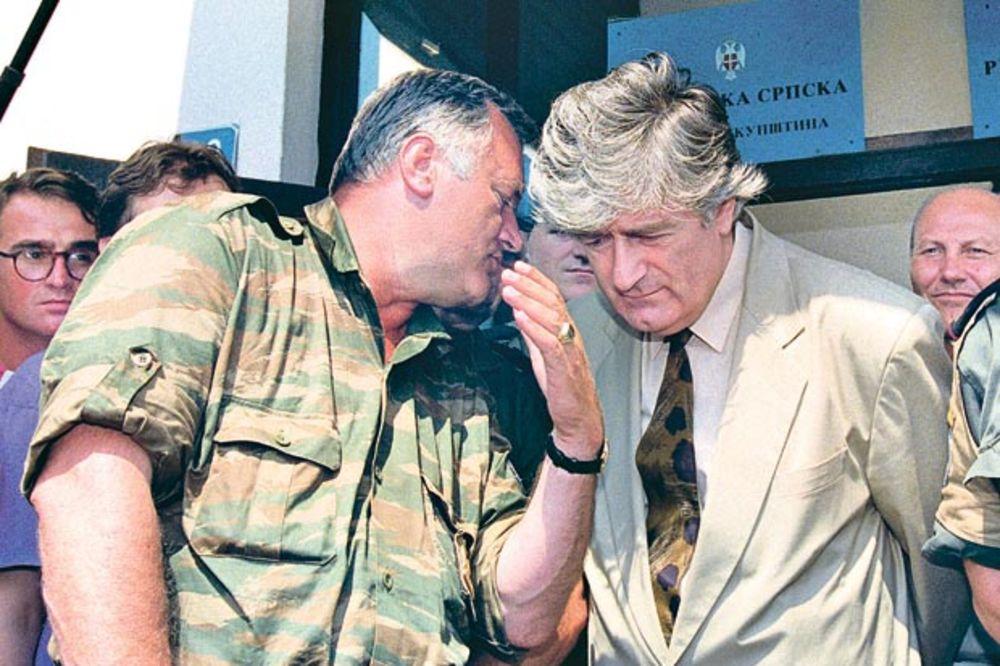 TAJNA DOKUMENTA SAD: Milošević hteo da svrgne Karadžića preko Mladića