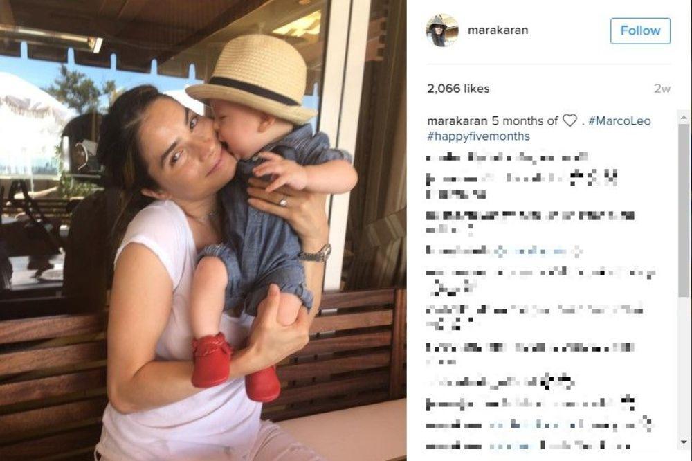 (FOTO) KAKVA ČAST: Sin Marije Karan dobio čestitku kojoj se niko nije nadao!