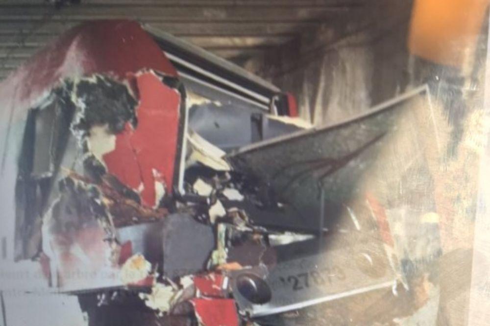 TRAGEDIJA U FRANCUSKOJ: Voz udario u drvo koje je palo preko šina! Povređeno najmanje 60 osoba!