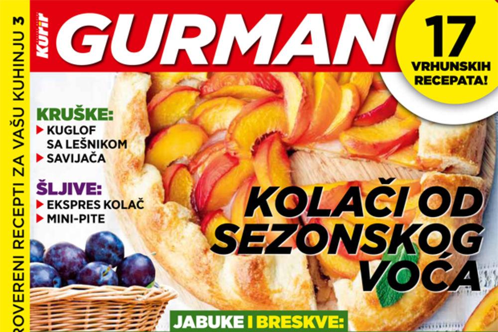 DANAS UZ KURIR: Kolači od sezonskog voća