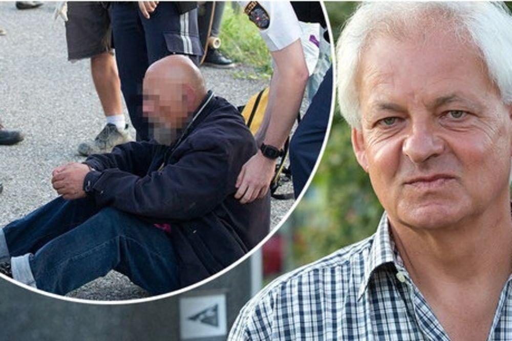 (FOTO) VALTER JE ODBRANIO VOZ: Austrijanac je uspeo da savlada napadača sa nožem i spreči masakr!