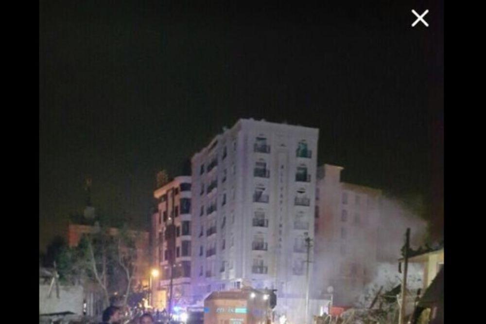 EKSPLODIRALA BOMBA U TURSKOJ: Automobil bomba ranio 20 osoba