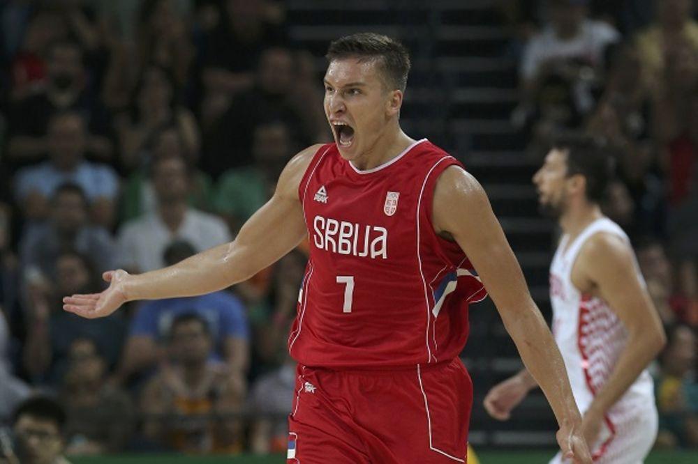 HRVATI OPET RAZBIJENI: Košarkaši Srbije u polufinalu Olimpijskih igara, za finale protiv Australije