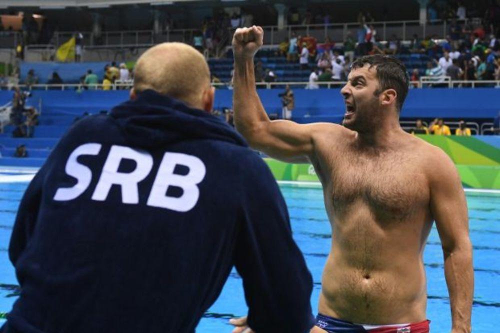 (KURIR TV) TO SU TI MOĆNI DELFINI: Evo šta srpski vaterpolisti kažu o finalu sa Hrvatima