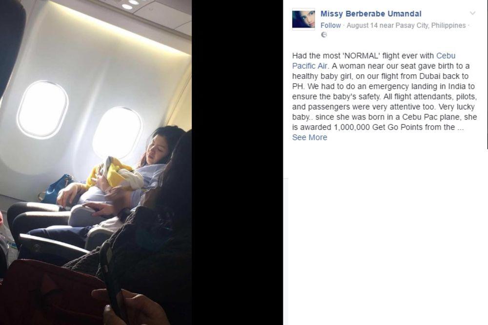 VALA IH JE IZNENADILA: Beba naterala avion da prinudno sleti