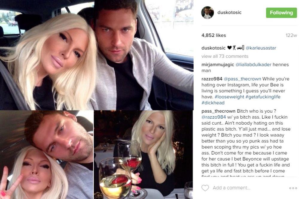 (FOTO) POSLE POKLONA, PORUKA NA INSTAGRAMU: Pogledajte kako je Duško čestitao Jeleni rođendan