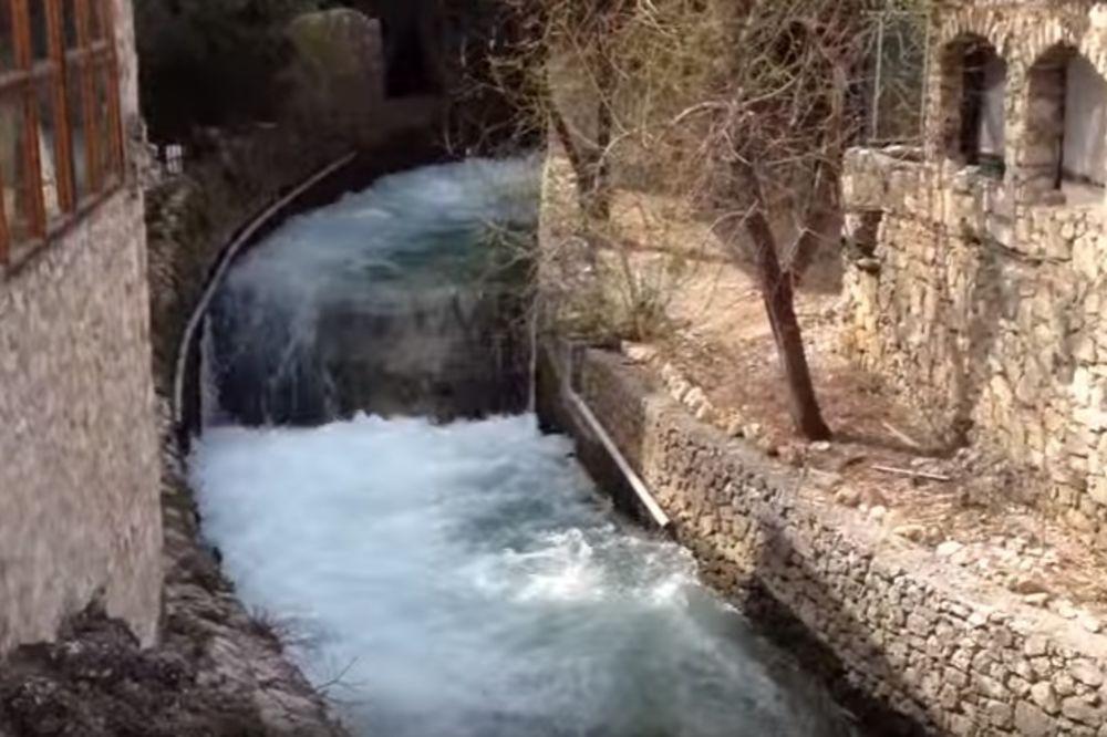 TRAGEDIJA KOD MOSTARA: Dečak poginuo posle pada sa stene u reku