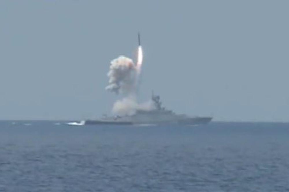 (VIDEO) PUTIN REŠIO DA SRAVNI DŽIHADISTE: Pogledajte napad Crnomorske flote na pripadnike ID!